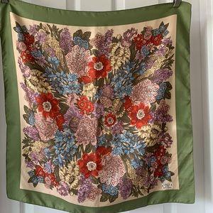 Vintage Liberty floral silk scarf